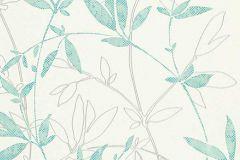 6499-18 cikkszámú tapéta.Különleges felületű,természeti mintás,fehér,szürke,türkiz,lemosható,vlies tapéta