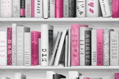 139501 cikkszámú tapéta.Fotórealisztikus,gyerek,fehér,fekete,pink-rózsaszín,szürke,gyengén mosható,vlies tapéta