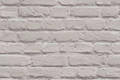 L22607 cikkszámú tapéta.Egyszínű,kőhatású-kőmintás,vajszín,gyengén mosható,vlies tapéta