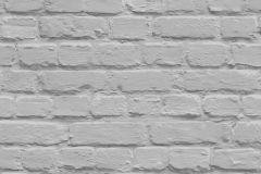 L22619 cikkszámú tapéta.Egyszínű,kőhatású-kőmintás,szürke,gyengén mosható,vlies tapéta