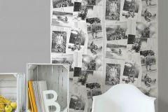 L39009 cikkszámú tapéta.Fotórealisztikus,gyerek,fehér,fekete,gyengén mosható,illesztés mentes,vlies tapéta