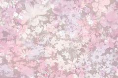 L39103 cikkszámú tapéta.Virágmintás,lila,pink-rózsaszín,gyengén mosható,vlies tapéta