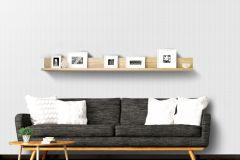 L42400 cikkszámú tapéta.3d hatású,absztrakt,különleges felületű,különleges motívumos,ezüst,fehér,lemosható,vlies tapéta