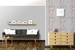 L42409 cikkszámú tapéta.3d hatású,különleges felületű,különleges motívumos,ezüst,szürke,lemosható,vlies tapéta