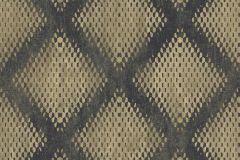 L60002 cikkszámú tapéta.3d hatású,absztrakt,különleges felületű,különleges motívumos,arany,fekete,lemosható,vlies tapéta