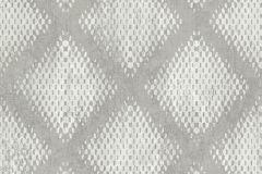 L60007 cikkszámú tapéta.Geometriai mintás,különleges motívumos,szürke,lemosható,vlies tapéta