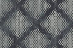 L60009 cikkszámú tapéta.Geometriai mintás,különleges motívumos,szürke,lemosható,vlies tapéta
