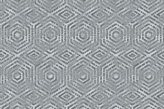 L60609 cikkszámú tapéta.3d hatású,geometriai mintás,különleges motívumos,szürke,lemosható,vlies tapéta