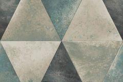 L62501 cikkszámú tapéta.Geometriai mintás,különleges felületű,különleges motívumos,metál-fényes,bronz,ezüst,kék,szürke,lemosható,vlies tapéta