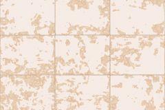 L62603 cikkszámú tapéta.Konyha-fürdőszobai,kőhatású-kőmintás,különleges felületű,különleges motívumos,metál-fényes,fehér,pink-rózsaszín,lemosható,vlies tapéta
