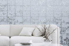 L62609 cikkszámú tapéta.Konyha-fürdőszobai,kőhatású-kőmintás,különleges felületű,különleges motívumos,metál-fényes,ezüst,szürke,lemosható,vlies tapéta