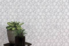 270523 cikkszámú tapéta.Absztrakt,különleges felületű,lila,szürke,lemosható,vlies tapéta