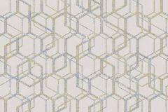 270530 cikkszámú tapéta.Absztrakt,különleges felületű,bézs-drapp,kék,zöld,lemosható,vlies tapéta