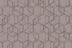 270547 cikkszámú tapéta.Absztrakt,különleges felületű,barna,lila,narancs-terrakotta,lemosható,vlies tapéta