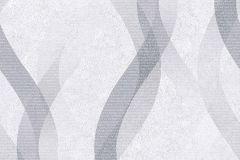 402634 cikkszámú tapéta.Absztrakt,különleges felületű,ezüst,szürke,lemosható,vlies tapéta