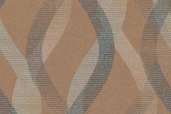 402658 cikkszámú tapéta.Absztrakt,különleges felületű,barna,ezüst,lila,szürke,lemosható,vlies tapéta