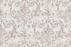 402702 cikkszámú tapéta.Barokk-klasszikus,csillámos,különleges felületű,barna,bézs-drapp,gyöngyház,lemosható,vlies tapéta