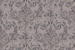 402726 cikkszámú tapéta.Barokk-klasszikus,csillámos,különleges felületű,barna,lila,lemosható,vlies tapéta