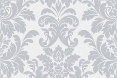 402818 cikkszámú tapéta.Barokk-klasszikus,csillámos,különleges felületű,ezüst,szürke,lemosható,vlies tapéta