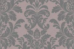 402856 cikkszámú tapéta.Barokk-klasszikus,csillámos,különleges felületű,barna,szürke,lemosható,vlies tapéta