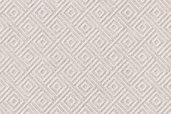 402917 cikkszámú tapéta.3d hatású,absztrakt,csillámos,geometriai mintás,különleges felületű,barna,bézs-drapp,lemosható,vlies tapéta