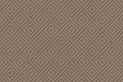 402931 cikkszámú tapéta.3d hatású,absztrakt,csillámos,geometriai mintás,különleges felületű,barna,szürke,lemosható,vlies tapéta