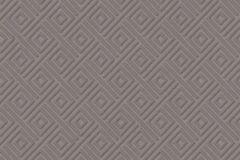 402948 cikkszámú tapéta.3d hatású,absztrakt,csillámos,geometriai mintás,különleges felületű,lila,szürke,lemosható,vlies tapéta
