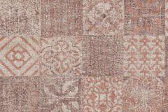 TP21292 cikkszámú tapéta.Konyha-fürdőszobai,különleges felületű,marokkói ,bézs-drapp,narancs-terrakotta,piros-bordó,szürke,gyengén mosható,vlies tapéta