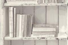 51151609 cikkszámú tapéta.3d hatású,fa hatású-fa mintás,különleges felületű,fehér,szürke,súrolható,vlies tapéta
