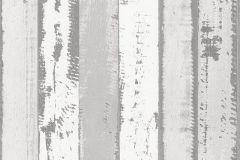 51152219 cikkszámú tapéta.Fa hatású-fa mintás,fehér,szürke,súrolható,illesztés mentes,vlies tapéta
