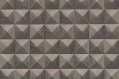 51181208 cikkszámú tapéta.3d hatású,különleges felületű,barna,súrolható,vlies tapéta