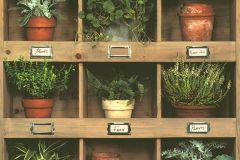51181807 cikkszámú tapéta.Foszforeszkáló,különleges felületű,barna,bézs-drapp,narancs-terrakotta,zöld,súrolható,vlies tapéta