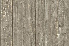 51182208 cikkszámú tapéta.Fa hatású-fa mintás,különleges felületű,barna,vajszín,súrolható,illesztés mentes,vlies tapéta