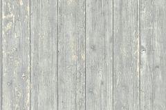 51182209 cikkszámú tapéta.Fa hatású-fa mintás,különleges felületű,szürke,vajszín,súrolható,illesztés mentes,vlies tapéta