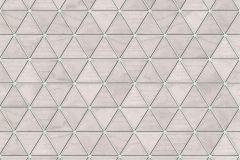 51182403 cikkszámú tapéta.Geometriai mintás,különleges felületű,bézs-drapp,szürke,súrolható,vlies tapéta