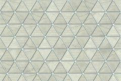 51182407 cikkszámú tapéta.Geometriai mintás,különleges felületű,bézs-drapp,ezüst,zöld,súrolható,vlies tapéta