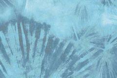 6352-08 cikkszámú tapéta.Absztrakt,természeti mintás,kék,lemosható,vlies tapéta