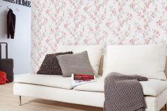 6933-06 cikkszámú tapéta.Virágmintás,piros-bordó,szürke,lemosható,vlies tapéta