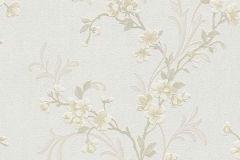 6933-14 cikkszámú tapéta.Virágmintás,sárga,szürke,lemosható,vlies tapéta
