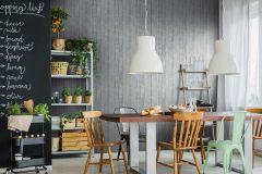 6367-15 cikkszámú tapéta.Dekor,fa hatású-fa mintás,különleges felületű,kék,szürke,lemosható,illesztés mentes,vlies tapéta