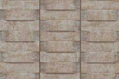 6368-11 cikkszámú tapéta.3d hatású,fa hatású-fa mintás,különleges felületű,barna,szürke,lemosható,vlies tapéta
