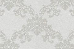 1760-01 cikkszámú tapéta.Barokk-klasszikus,különleges felületű,metál-fényes,bézs-drapp,vlies tapéta