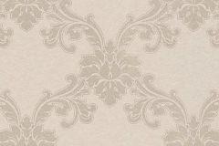 1760-14 cikkszámú tapéta.Barokk-klasszikus,különleges felületű,metál-fényes,bézs-drapp,vlies tapéta