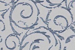 1772-08 cikkszámú tapéta.Absztrakt,csillámos,különleges motívumos,kék,szürke,gyengén mosható,vlies tapéta
