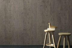 5820-33 cikkszámú tapéta.Csíkos,fa hatású-fa mintás,különleges felületű,rajzolt,barna,lemosható,illesztés mentes,vlies tapéta
