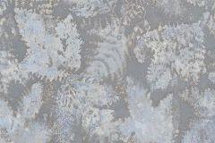 5966-08 cikkszámú tapéta.Különleges felületű,rajzolt,retro,természeti mintás,virágmintás,ezüst,kék,szürke,lemosható,vlies tapéta