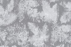 5966-15 cikkszámú tapéta.Különleges felületű,rajzolt,retro,természeti mintás,virágmintás,ezüst,szürke,lemosható,vlies tapéta