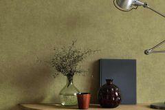 5967-07 cikkszámú tapéta.Egyszínű,különleges felületű,retro,zöld,lemosható,illesztés mentes,vlies tapéta