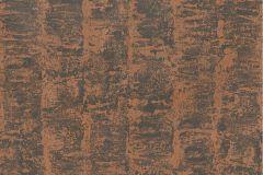 41001-40 cikkszámú tapéta.Dekor,különleges felületű,metál-fényes,barna,narancs-terrakotta,gyengén mosható,illesztés mentes,vlies tapéta