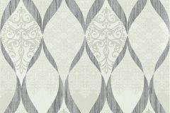 41006-50 cikkszámú tapéta.Barokk-klasszikus,csillámos,különleges felületű,bézs-drapp,ezüst,szürke,vlies tapéta